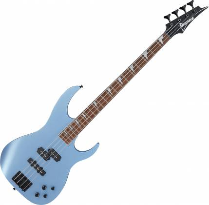 Ibanez RGB300-SDM RG-Shaped 4-String RH Electric Bass-Soda Blue Matte RGB-300-SDM Product Image 1
