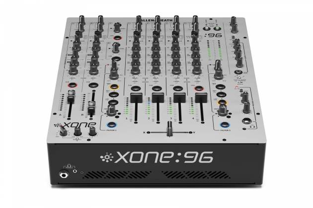 Allen & Heath XONE:96 6 Into 2 Club & DJ Analogue DJ Mixer with Audio Interface x-one-96 Product Image 7