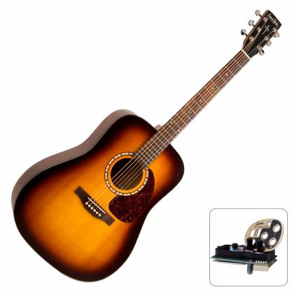 Simon & Patrick 030095-D Songsmith QIT 6 String RH Acoustic Electric Guitar (Discontinued) Product Image