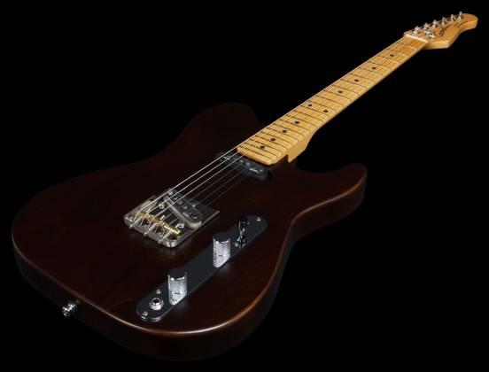 Godin 049325 Stadium HT 6-String RH Electric Guitar with Gigbag-Havana Brown MN Product Image 12