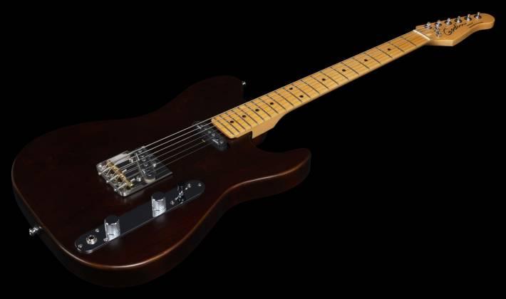 Godin 049325 Stadium HT 6-String RH Electric Guitar with Gigbag-Havana Brown MN Product Image 4