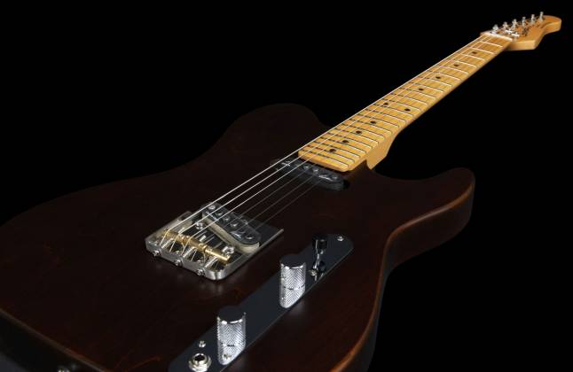 Godin 049325 Stadium HT 6-String RH Electric Guitar with Gigbag-Havana Brown MN Product Image 20