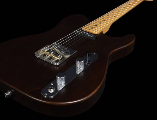 Godin 049325 Stadium HT 6-String RH Electric Guitar with Gigbag-Havana Brown MN Product Image 19