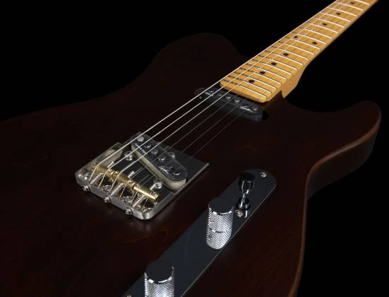 Godin 049325 Stadium HT 6-String RH Electric Guitar with Gigbag-Havana Brown MN Product Image 18