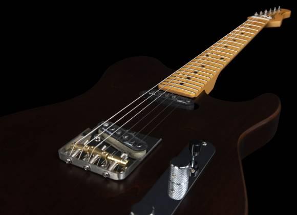 Godin 049325 Stadium HT 6-String RH Electric Guitar with Gigbag-Havana Brown MN Product Image 17
