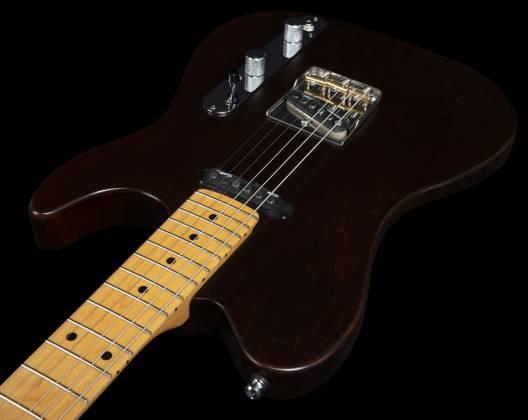 Godin 049325 Stadium HT 6-String RH Electric Guitar with Gigbag-Havana Brown MN Product Image 15
