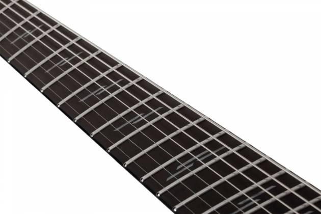 Schecter 1467-SHC C-7 Multiscale Silver Mountain 7-String LH Electric Guitar-Silver Mountain 1467-shc Product Image 11