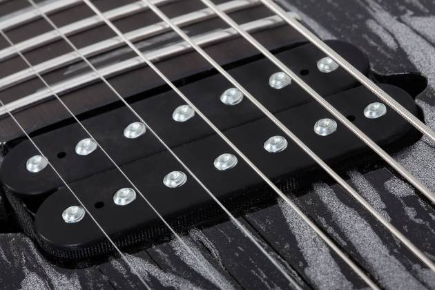 Schecter 1467-SHC C-7 Multiscale Silver Mountain 7-String LH Electric Guitar-Silver Mountain 1467-shc Product Image 4