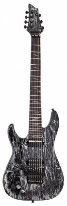 Schecter 1468-SHC C-7 FR S Silver Mountain 7-String LH Electric Guitar-Silver Mountain 1468-shc Product Image 2
