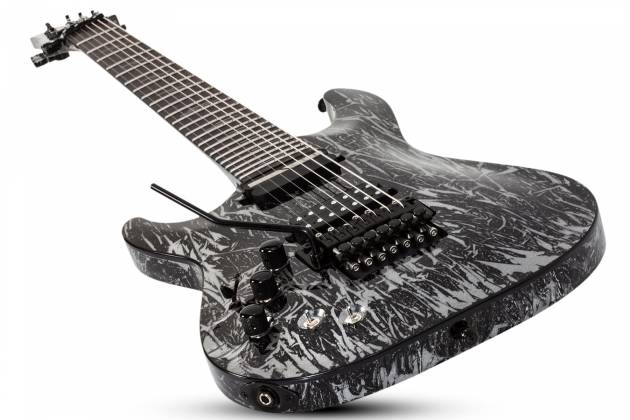 Schecter 1468-SHC C-7 FR S Silver Mountain 7-String LH Electric Guitar-Silver Mountain 1468-shc Product Image 8