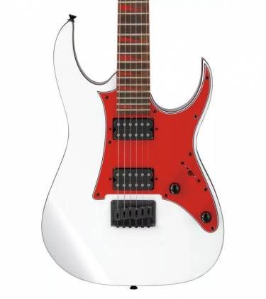 Ibanez GRG131DXWH Gio Series 6-String RH Electric Guitar-White grg-131-dx-wh Product Image 8