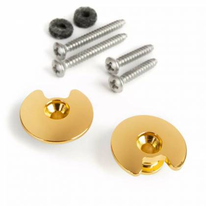 Diago GH01G Twistock Guitar/Bass Secure Strap Buttons-Gold (discontinued clearance) gh-01-g Product Image 7
