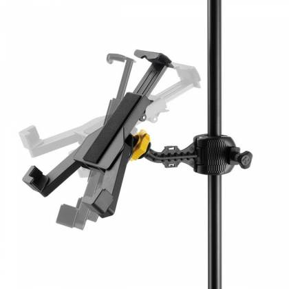 Hercules DG300B Tablet Holder for Microphone Stand dg-300-b Product Image 2