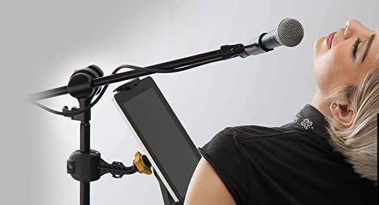 Hercules DG300B Tablet Holder for Microphone Stand dg-300-b Product Image 11