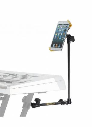 Hercules DG320B Tablet Holder for Keyboard Stand dg-320-b Product Image