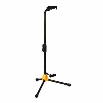 Hercules GS412B+ Auto Grip Single Guitar Stand with Backrest gs-412-b-plus Product Image