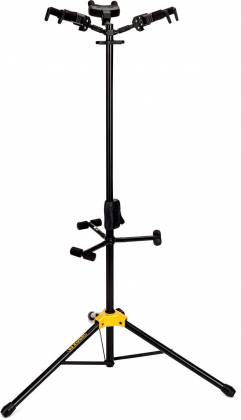 Hercules GS432B+ Auto Grip Triple Guitar Stand with Foldable Backrest gs-42-b-plus Product Image 6