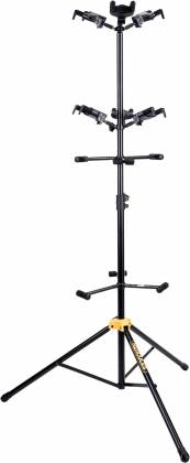 Hercules GS526B+ Auto Grip Display Stand for up to 6 Guitars gs-526-b-plus Product Image