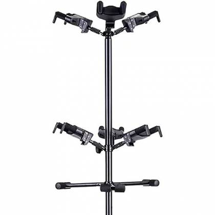 Hercules GS526B+ Auto Grip Display Stand for up to 6 Guitars gs-526-b-plus Product Image 3