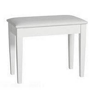 Korg Keyboards PB-KRG-WH Padded Piano Bench with Storage-White pb-krg-wh Product Image