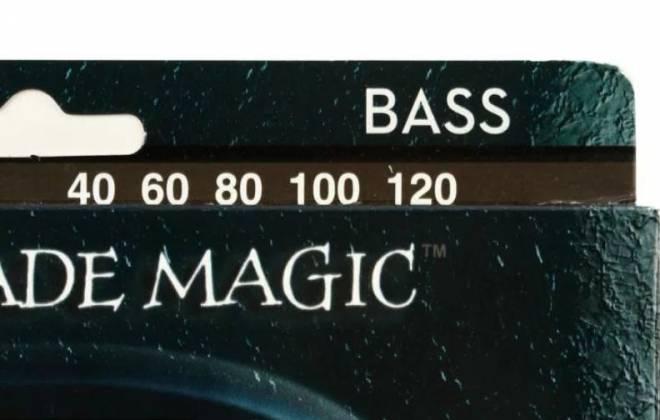 DR Strings BKB5-40 Black Beauties 5-String Bass Strings Light Gauge 40-120 bkb-5-40 Product Image 2