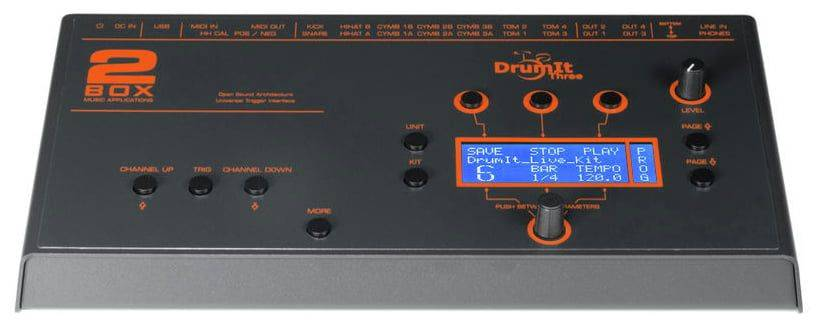 2 Box 10317 Drumit 3 Universal Electronic Drum Module Product Image 4