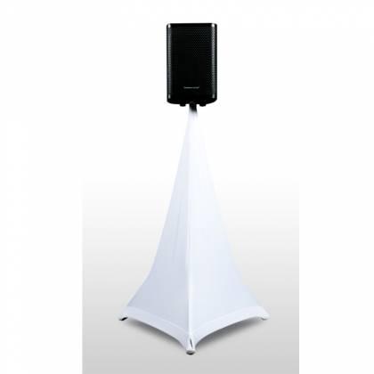 American DJ EVENT-STAND-SCRIM-3W 5 Ft Three sided white speaker stand scrim Product Image 2
