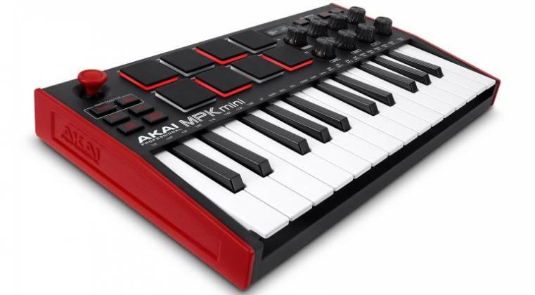 Akai MPK Mini 3 USB MIDI Compact Keyboard and Pad Controller mpk-mini-3 Product Image