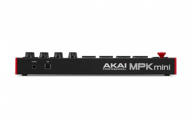 Akai MPK Mini 3 USB MIDI Compact Keyboard and Pad Controller mpk-mini-3 Product Image 5