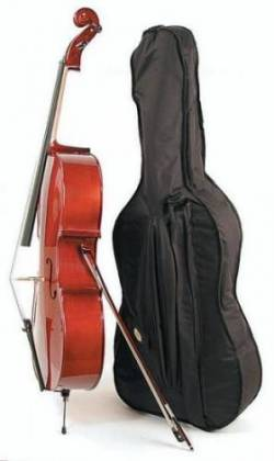 Menzel MDN950CF 4/4 Cello Outfit with Bow and Gigbag mdn-950-cf Product Image 2