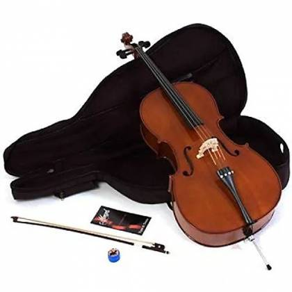 Menzel MDN950CF 4/4 Cello Outfit with Bow and Gigbag mdn-950-cf Product Image