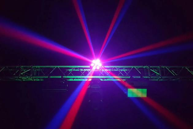 Blizzard SHOQWAVE X6 RGBW 6-Head Moving Centrepiece Effects Lighting shoqwave-x-6 Product Image 6