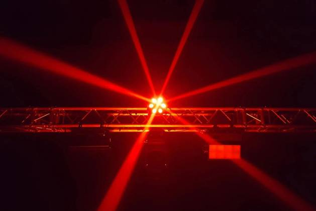 Blizzard SHOQWAVE X6 RGBW 6-Head Moving Centrepiece Effects Lighting shoqwave-x-6 Product Image 3