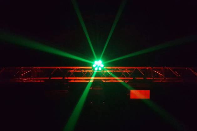 Blizzard SHOQWAVE X6 RGBW 6-Head Moving Centrepiece Effects Lighting shoqwave-x-6 Product Image 2