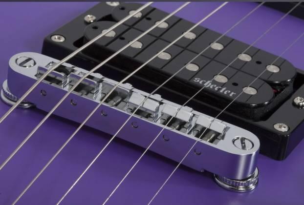 Schecter 429-SHC C-6 Deluxe 6-String RH Electric Guitar-Satin Purple 429-shc Product Image 7