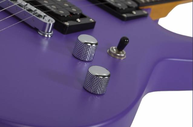 Schecter 429-SHC C-6 Deluxe 6-String RH Electric Guitar-Satin Purple 429-shc Product Image 6