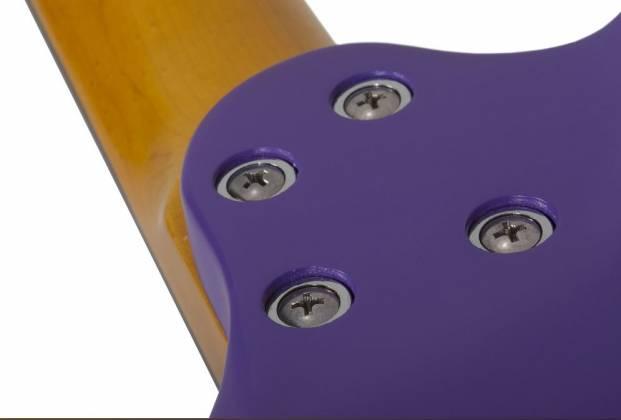 Schecter 429-SHC C-6 Deluxe 6-String RH Electric Guitar-Satin Purple 429-shc Product Image 5
