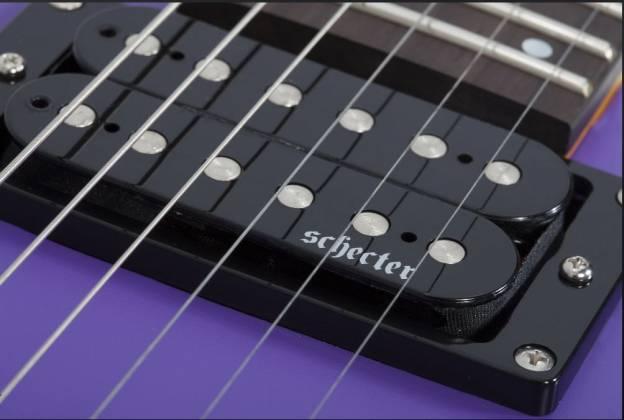 Schecter 429-SHC C-6 Deluxe 6-String RH Electric Guitar-Satin Purple 429-shc Product Image 4