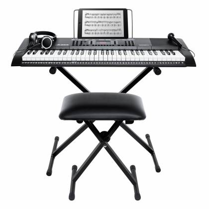 Alesis HARMONY 61 MKII XUS Versatile 61 Piano-Style Keyboard with Stand and Accessories harmony-61-mk-ii-xus Product Image