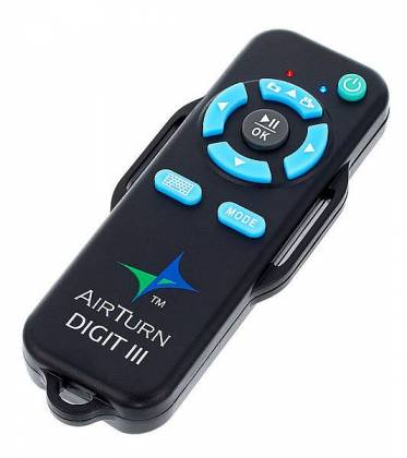 AirTurn DIGIT-3 Handheld Bluetooth Remote for iOS, Android, and Bluetooth-enabled PCs and Macs digit-3 Product Image 2