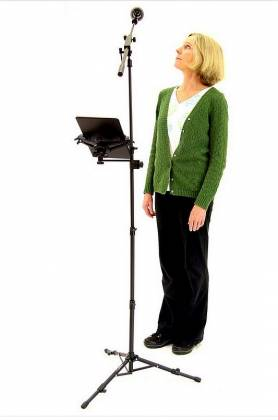 AirTurn GOSTAND Portable Mic and Ipad or Tablet Stand gostand Product Image 6