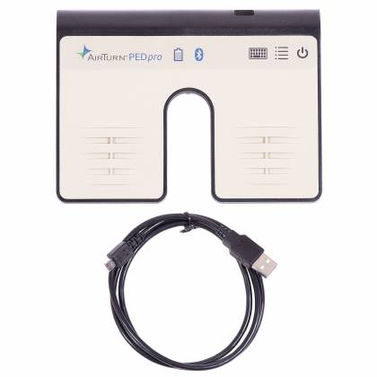 AirTurn PEDPRO Dual Bluetooth Wireless Pedal Controller for Hands-free Computer Scrolling pedpro Product Image 6
