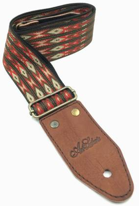 Art & Lutherie 045327 Diablo Red Guitar Strap 045327 Product Image