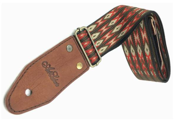 Art & Lutherie 045327 Diablo Red Guitar Strap 045327 Product Image 2