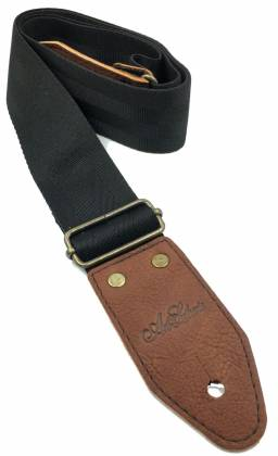 Art & Lutherie 045358 Bronco Black Guitar Strap 045358 Product Image