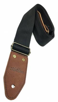 Art & Lutherie 045358 Bronco Black Guitar Strap 045358 Product Image 2