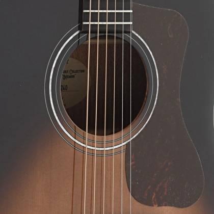 Guild DS-240 Westerly Series Memoir 6-String RH Acoustic Guitar-Tear Drop Burst Gloss 383-0470-937 Product Image 11