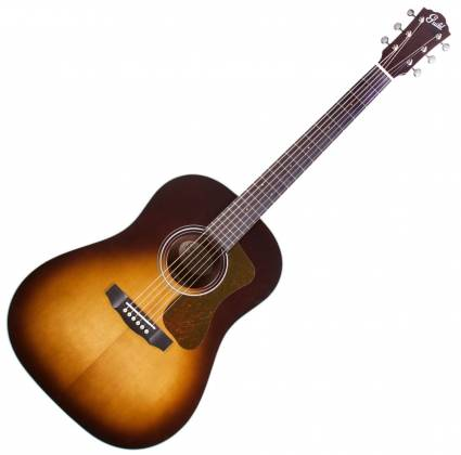 Guild DS-240 Westerly Series Memoir 6-String RH Acoustic Guitar-Tear Drop Burst Gloss 383-0470-937 Product Image