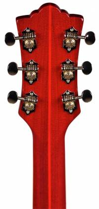 Guild Starfire V Newark Series 6-String RH Semi-Hollow Electric Guitar with Tremolo and Humidified Hard Case-Cherry Red 379-2205-866 Product Image 5