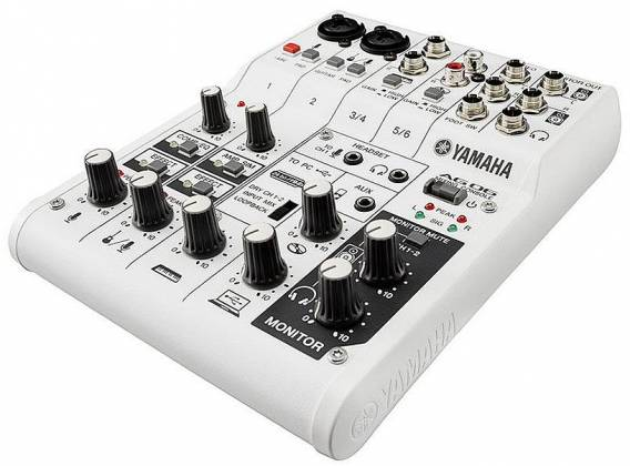 Yamaha AG06 6-channel Mixer and USB Audio Interface ag-06 Product Image 3